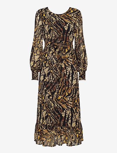 TasnimGZ dress MA19 - summer dresses - stripe yellow snake