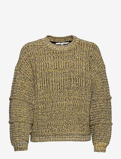 StephiGZ pullover MA20 - sweaters - yellow black melange