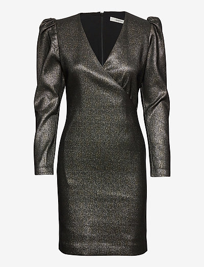 WillowGZ dress YE20 - bodycon dresses - gold glitter