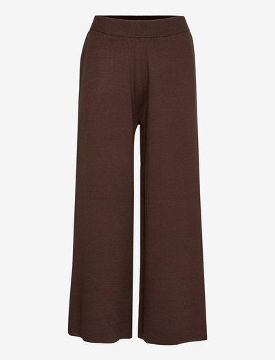 TalliGZ MW culotte - wide leg trousers - coffee bean