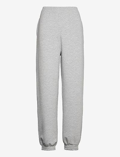 ChrisdaGZ MEL sweatpants - sweatpants - light grey melange
