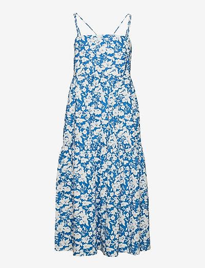 MynteGZ dress - midi dresses - blue flower