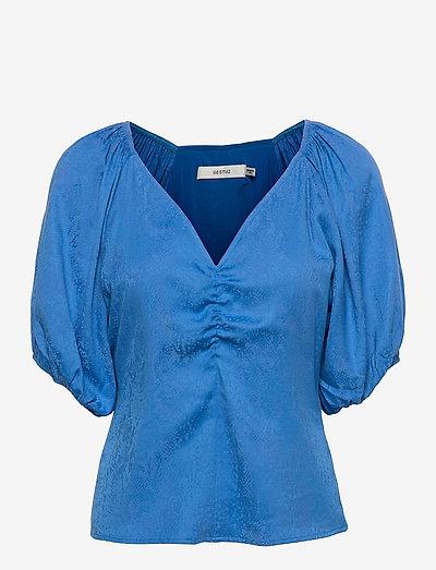 BegoniaGZ blouse - kortærmede bluser - french blue