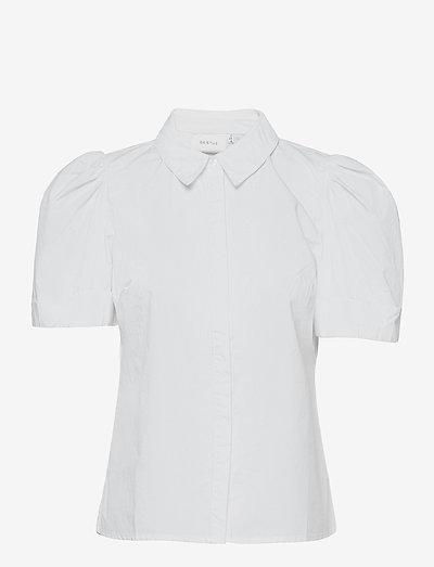 HalioGZ ss shirt - kortærmede skjorter - bright white