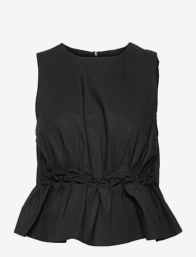SoriGZ sl top - Ärmellose blusen - black