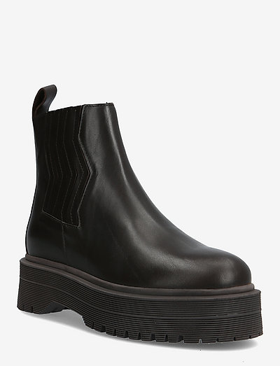 MarleeGZ short boots - flat ankle boots - coffee bean
