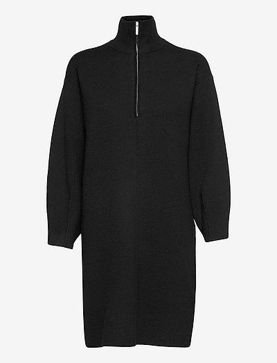 TalliGZ zipper dress - sommerkjoler - black