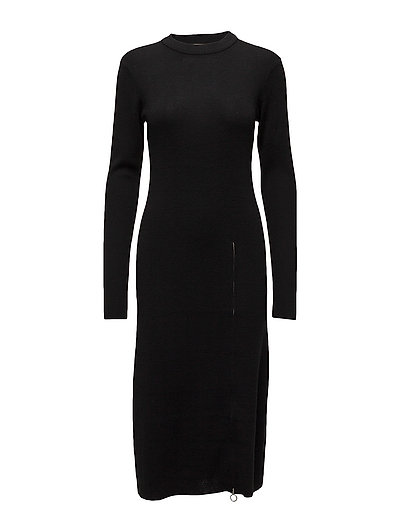 Ramona dress - BLACK