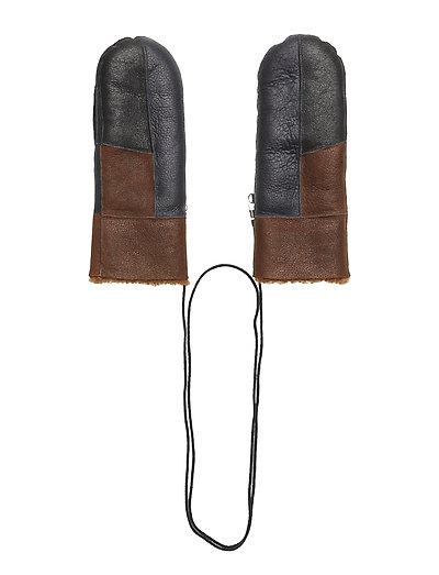 Layla mittens MA18 - DRESS BLUES/CARAMELC/BLACK