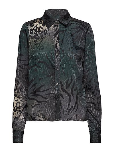 Cristal shirt YE18 - DEEP PINE ANIMAL