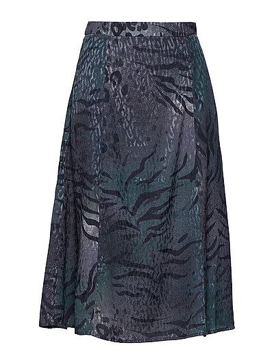Cristal skirt YE18 - DEEP PINE ANIMAL