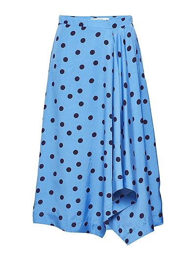 Elsie skirt ZE2 18 - BLUE/NAVY DOT