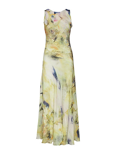 Wize maxi dress ZE4 18 - ALL OVER PRINT