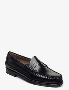 GH WEEJUN II LARSON MOC PENNY - loafers - black lthr