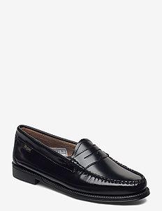 GH WEEJUN II WMN PENNY - loafers - black lthr