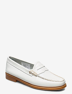 GH WEEJUN II WMN PENNY - loafers - white lthr