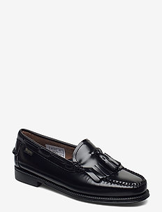 GH WEEJUN II WMN ESTHER KILTIE - loafers - black lthr