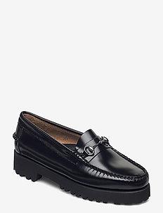 GH WEEJUN 90 LIANNA LTHR - loafers - black lthr