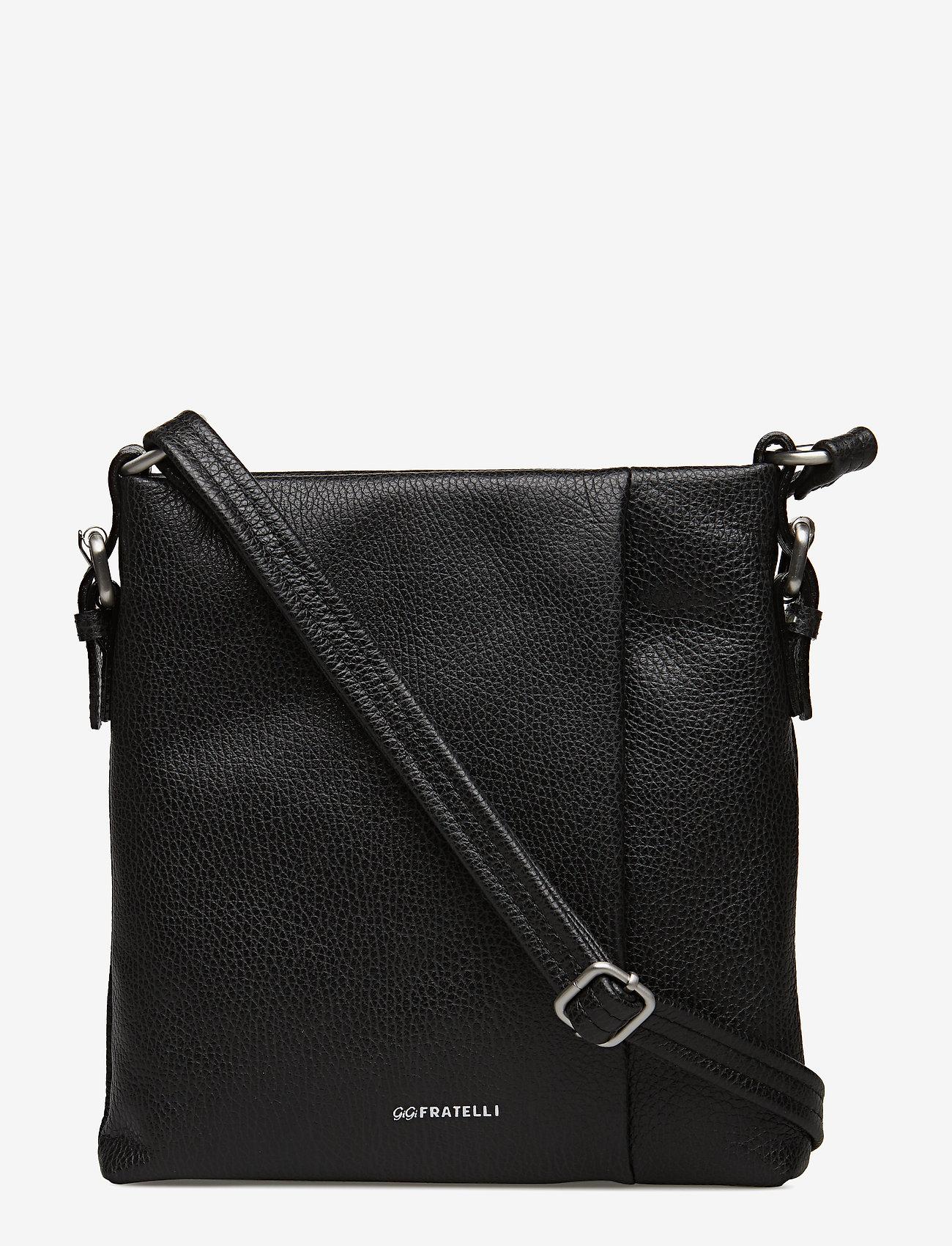 GiGi Fratelli - Romance shoulderbag / crossbody bag - schoudertassen - black