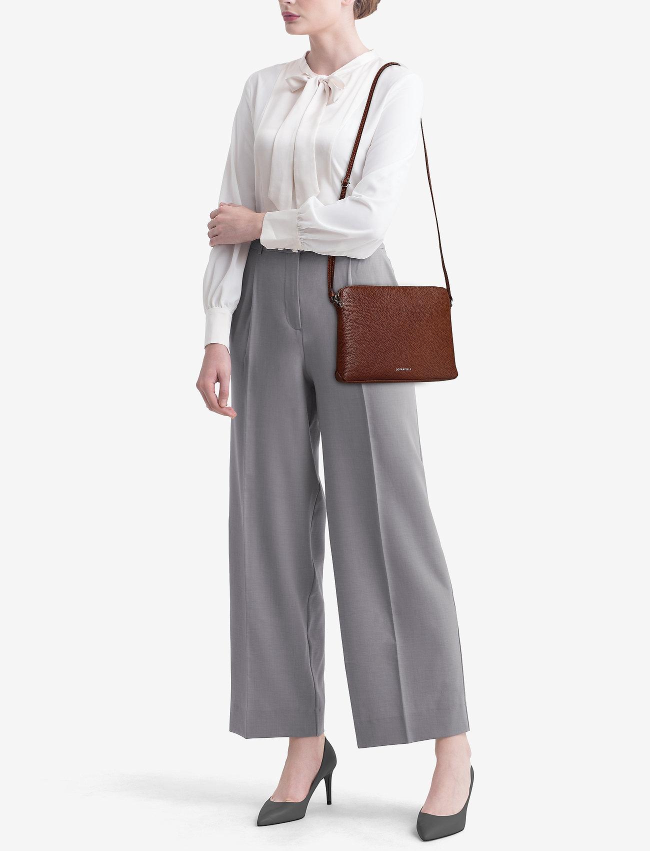 GiGi Fratelli Romance Flat bag - BRANDY
