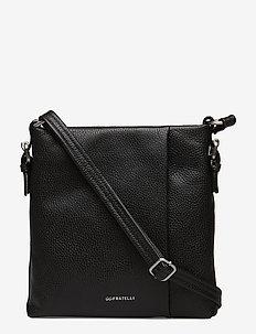 Romance shoulderbag / crossbody bag - BLACK