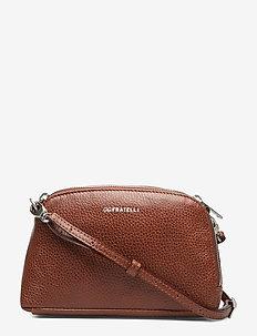 Romance Small Handbag - BRANDY