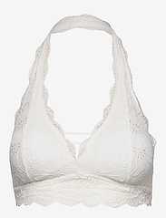 Gilly Hicks - Lace Halter - bralette & corset - white lace - 0