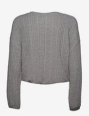 Gilly Hicks - VAR RIB COZY LS - overdele - dark heather grey - 1