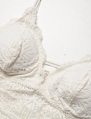 Gilly Hicks - Crochet Lace Bodysuit - bodies & slips - white lace - 2