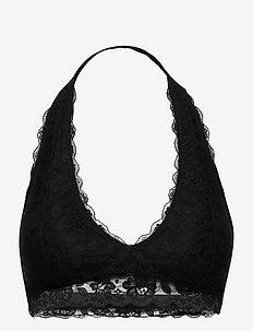 NTRL CORE LACE HALTER - bralette & corset - black