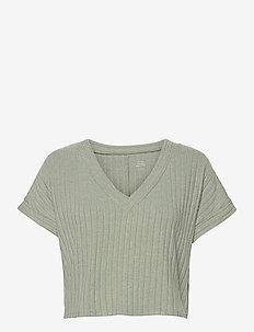 HCo. GIRLS SLEEP - crop tops - mint dd