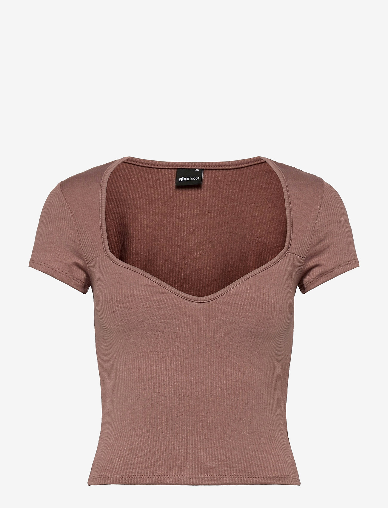 Gina Tricot - Margot bustier top - t-shirts - antier (9693) - 0