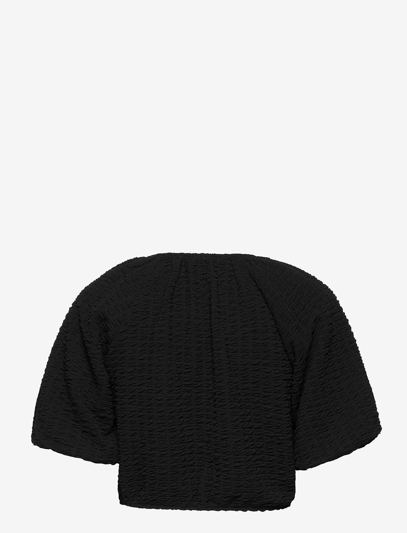 Gina Tricot - Edina top - crop tops - black (9000) - 1