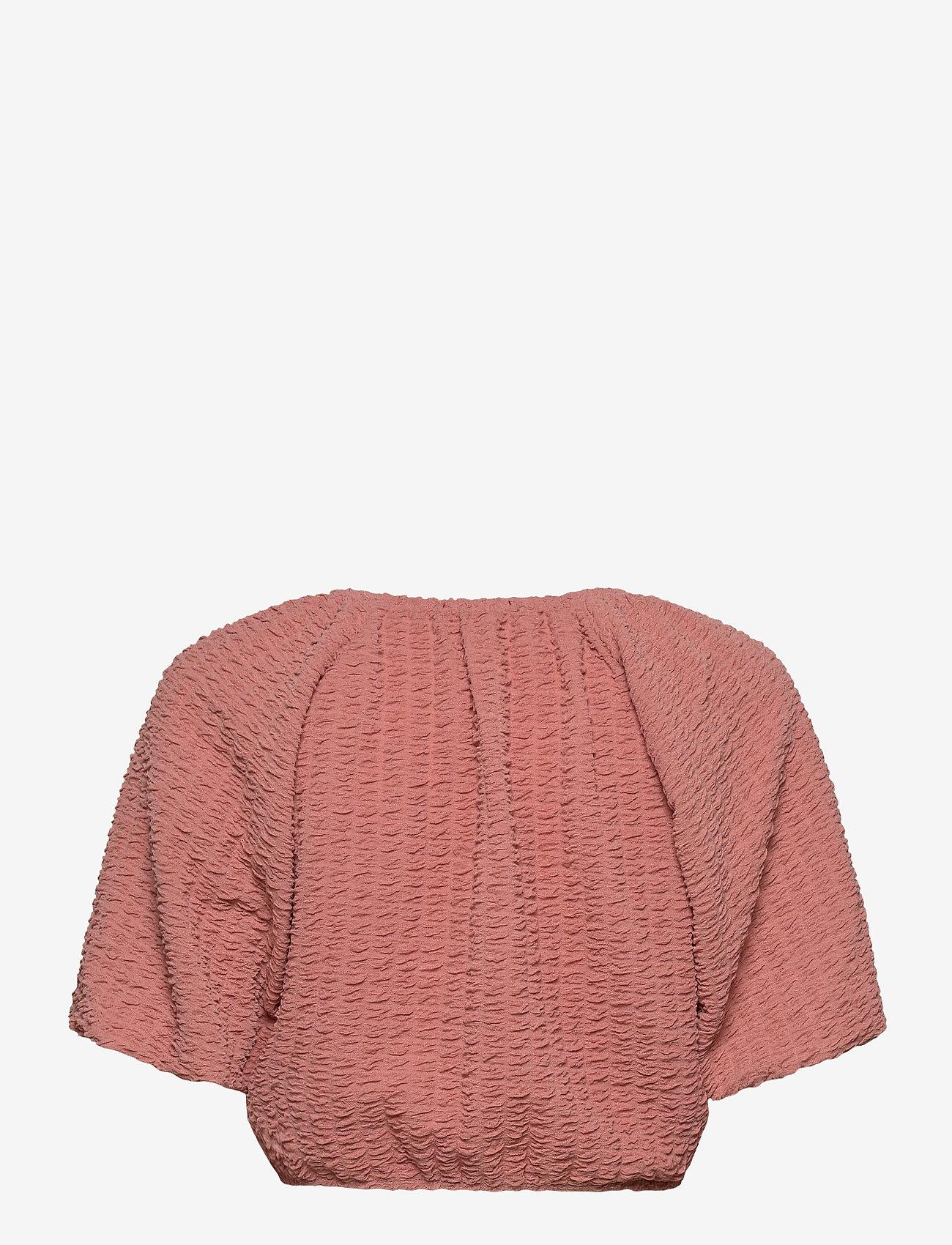 Gina Tricot - Edina top - navel shirts - rose dawn (3906) - 1