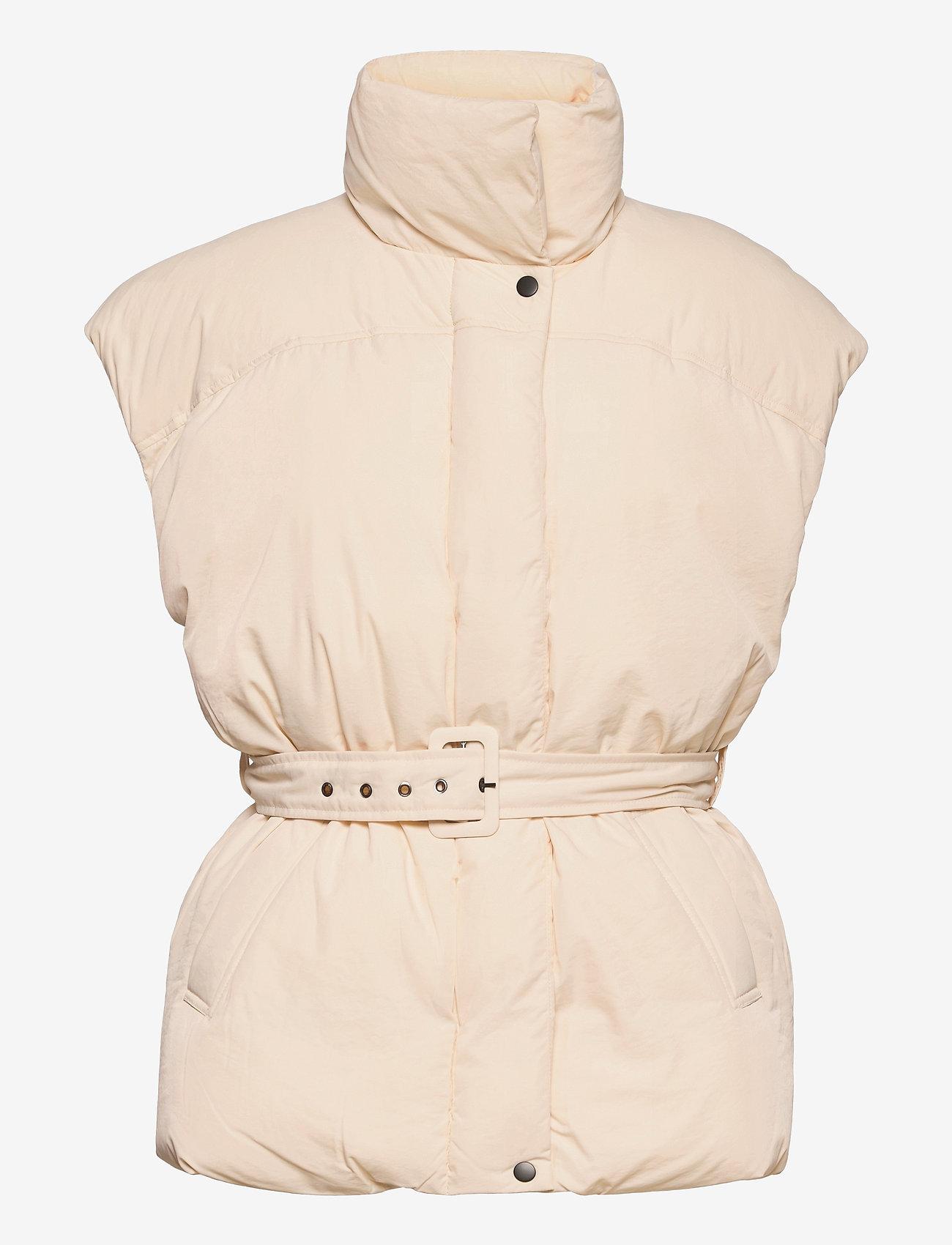 Gina Tricot - Zola puffer vest - puffer vests - whitecap gray (1303) - 0