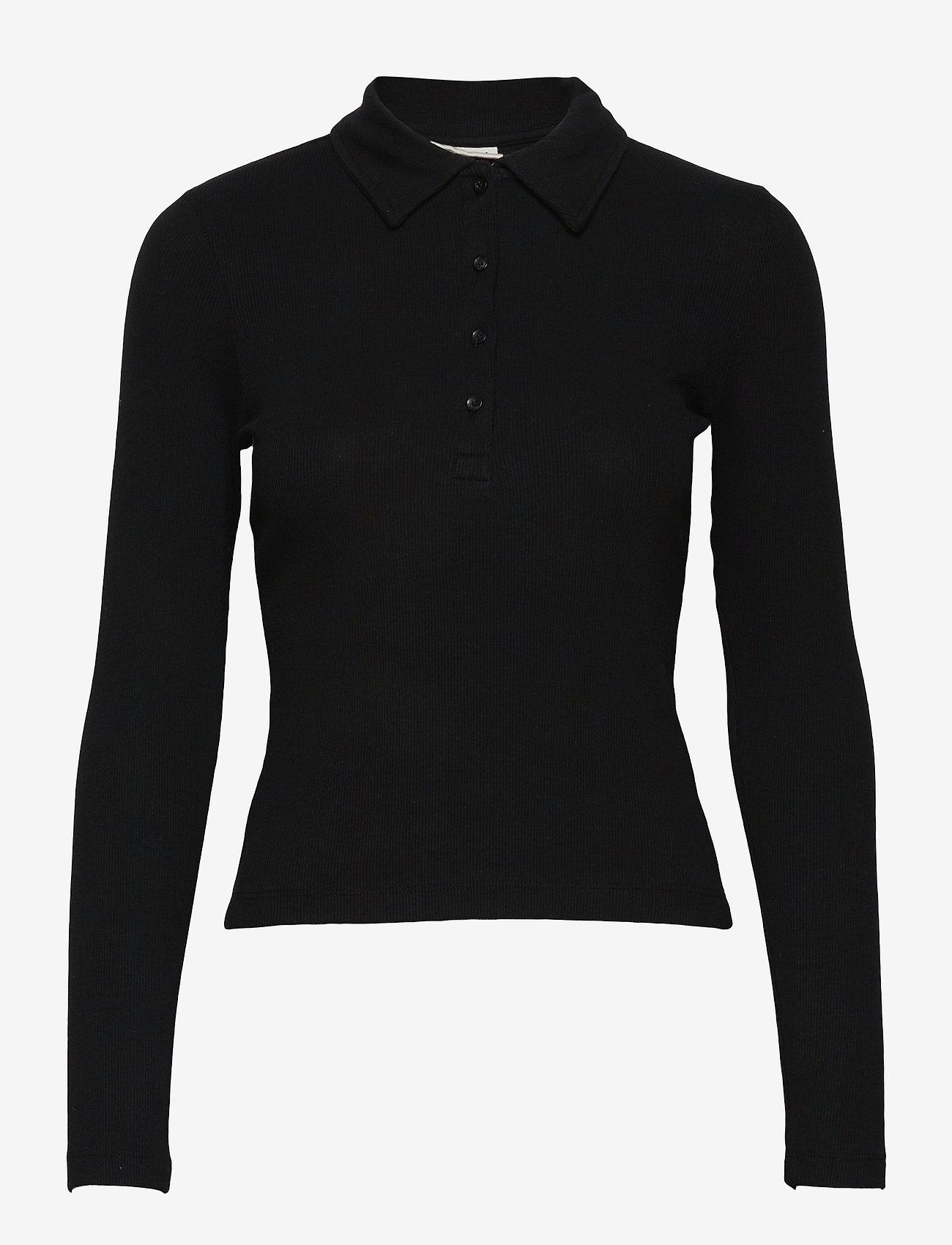 Gina Tricot - Bea top - polohemden - black (9000) - 0