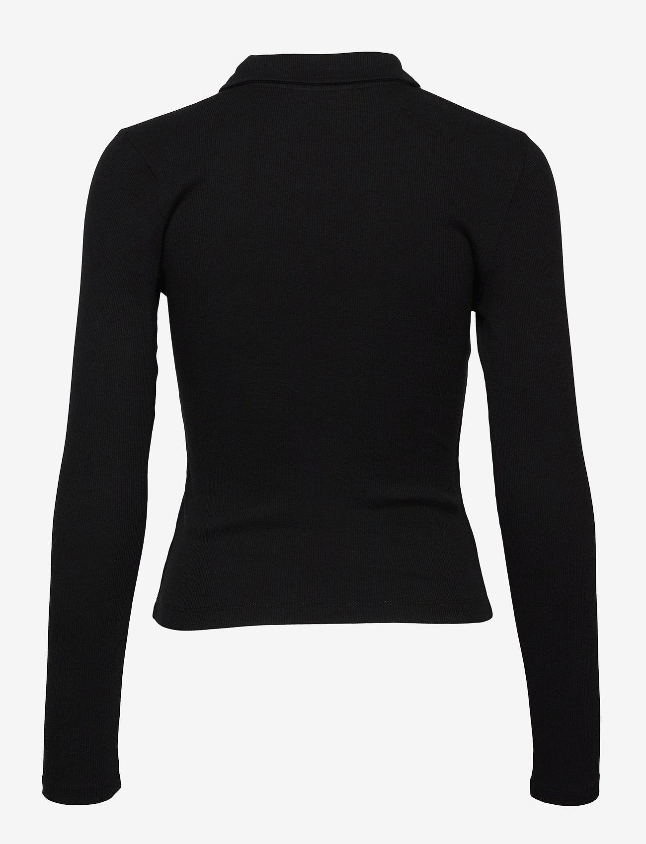 Gina Tricot - Bea top - polohemden - black (9000) - 1