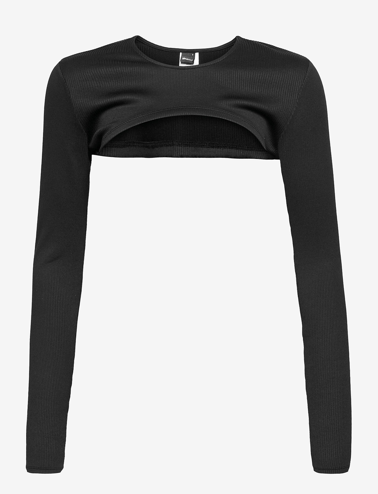Gina Tricot - Eve top - crop tops - black (9000) - 0