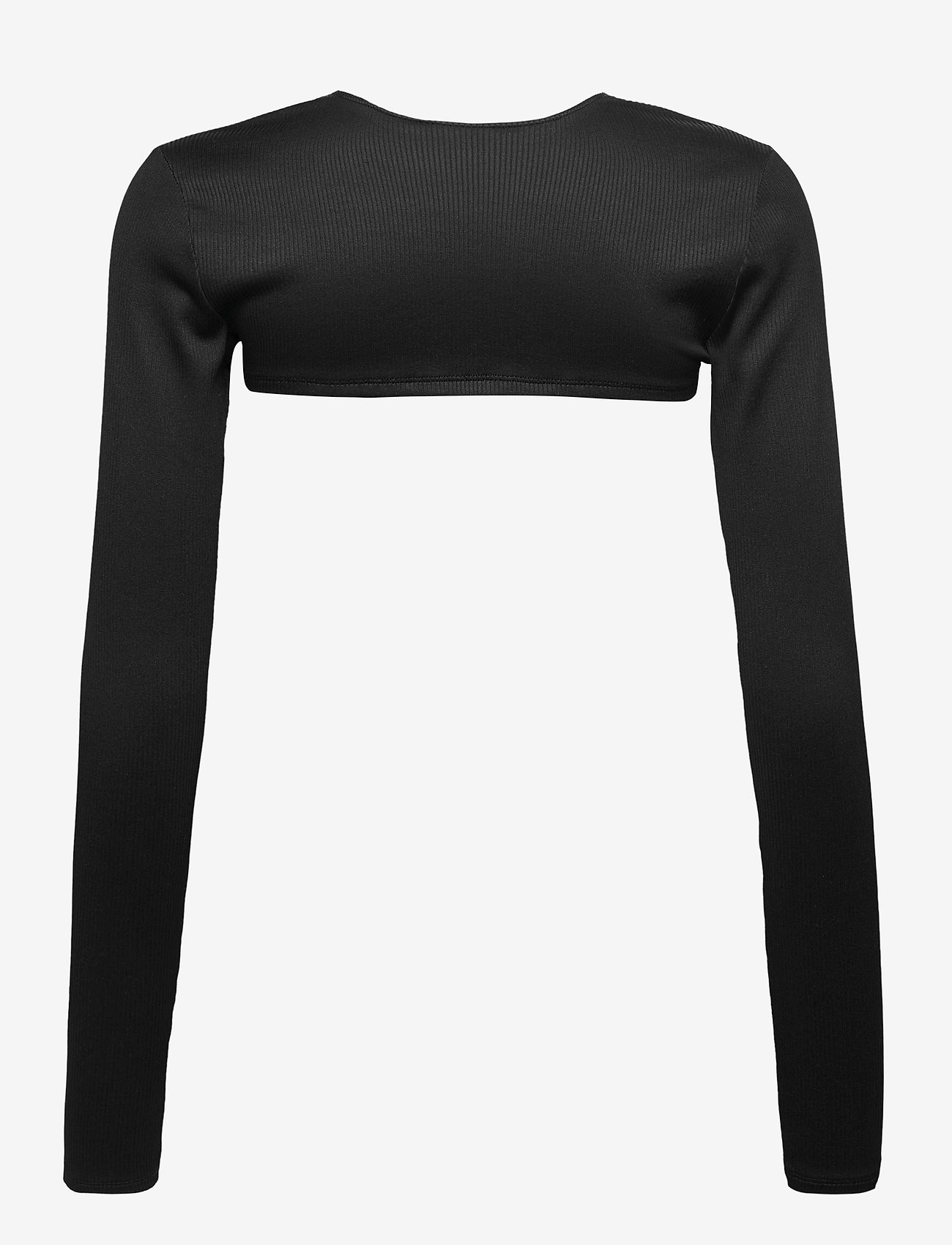 Gina Tricot - Eve top - crop tops - black (9000) - 1