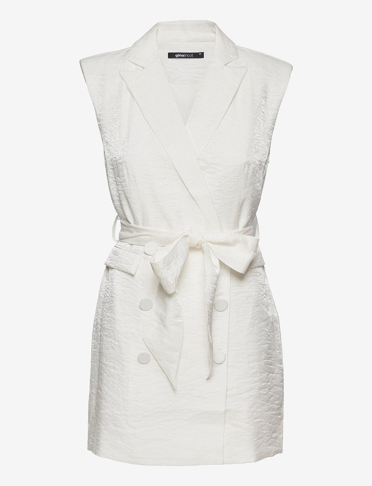 Gina Tricot - Whitney blazer dress - sommerkjoler - offwhite - 0