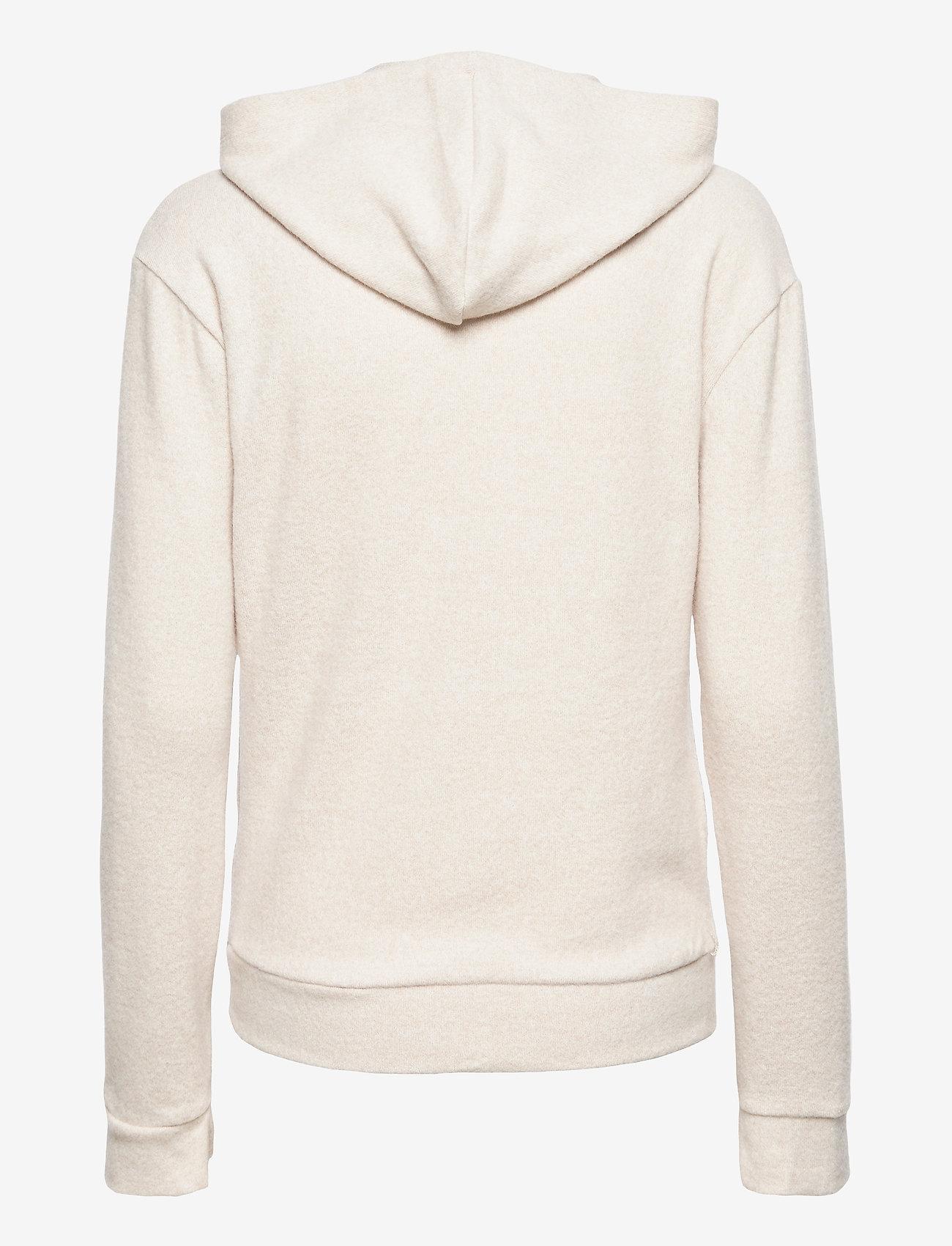 Gina Tricot - Alicia hoodie - hættetrøjer - beige (1040) - 1