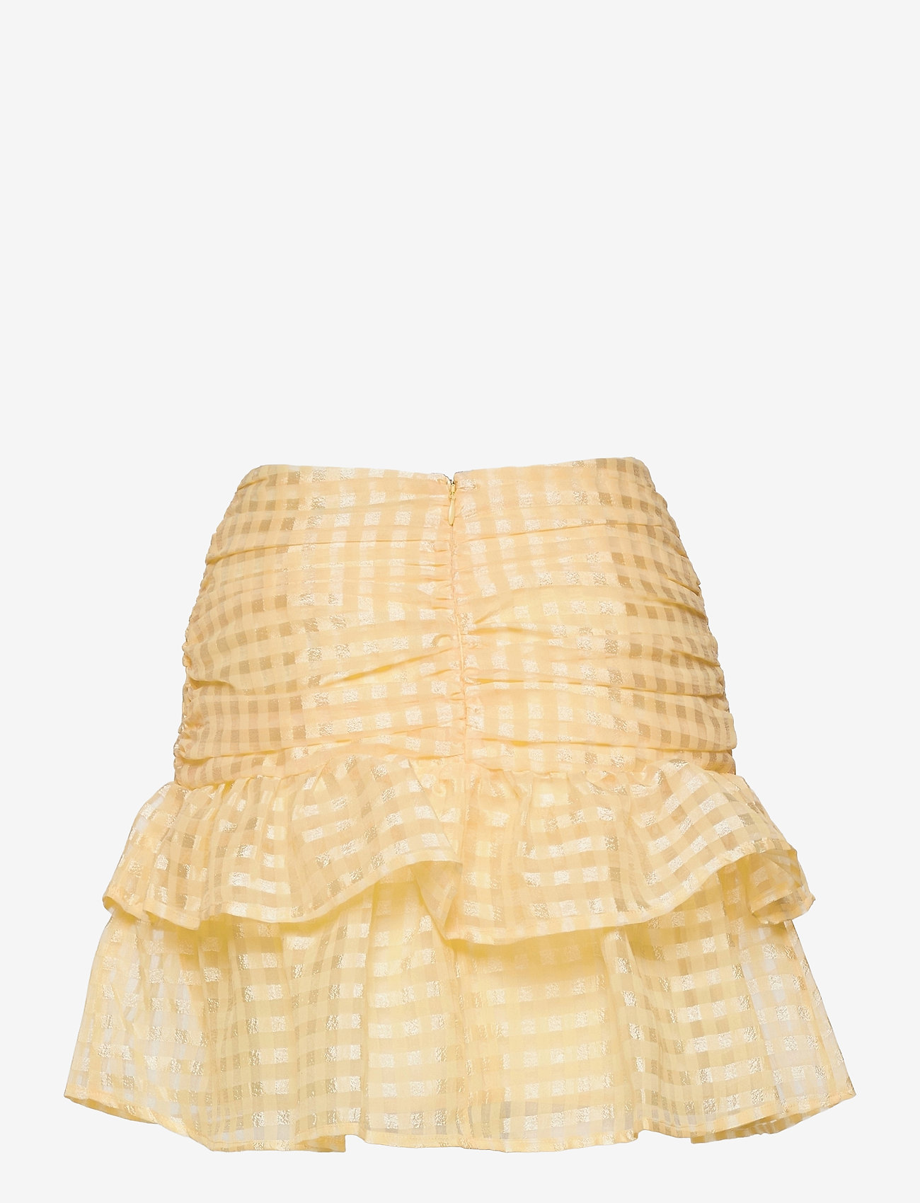 Gina Tricot - Simone skirt - korta kjolar - pale banana (2089) - 1