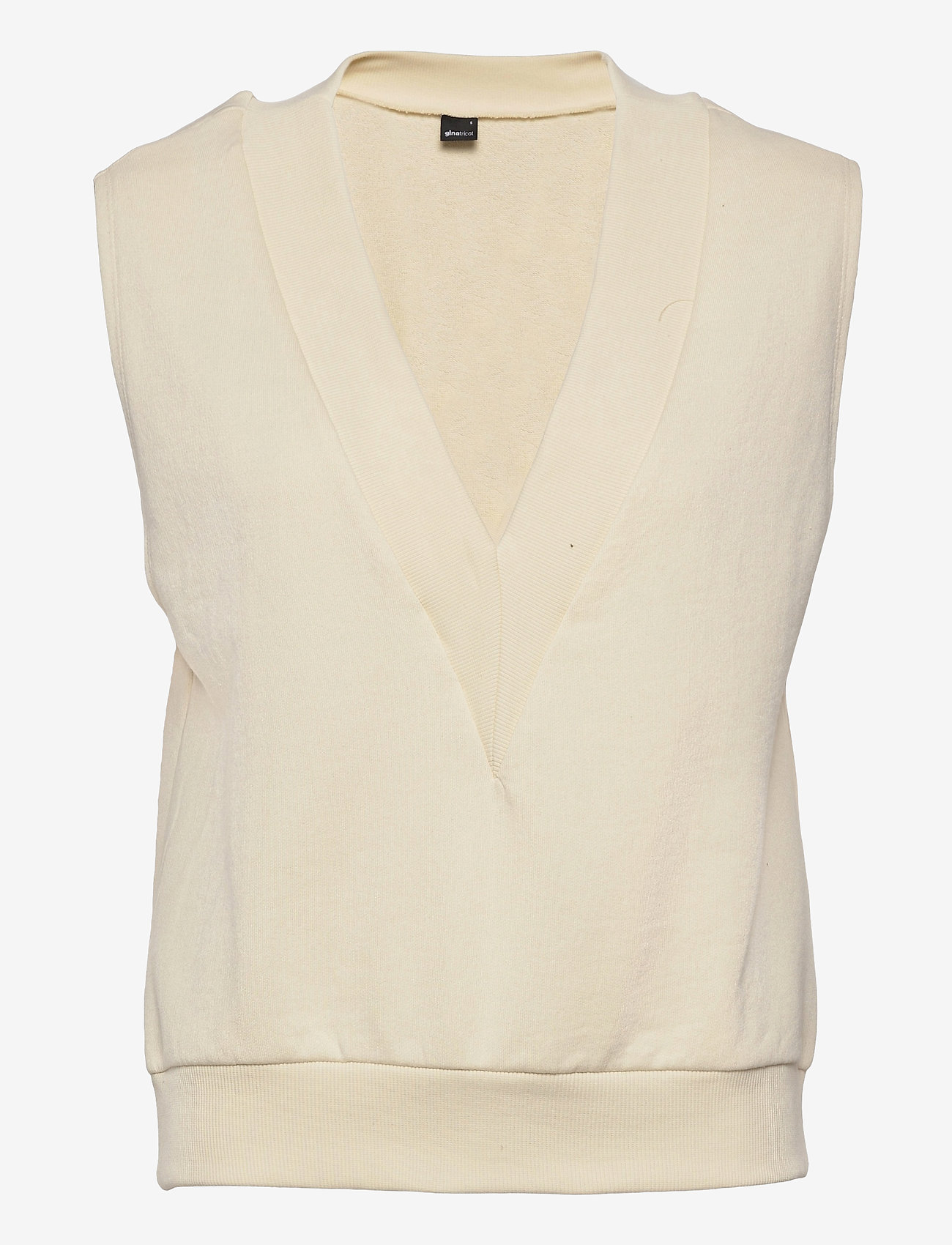 Gina Tricot - Love vest - knitted vests - cloud cream (1601) - 0