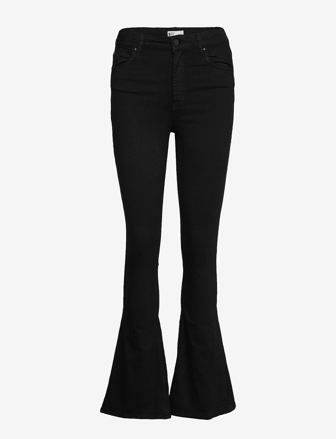 Gina Tricot - Natasha bootcut jeans - boot cut jeans - black - 0