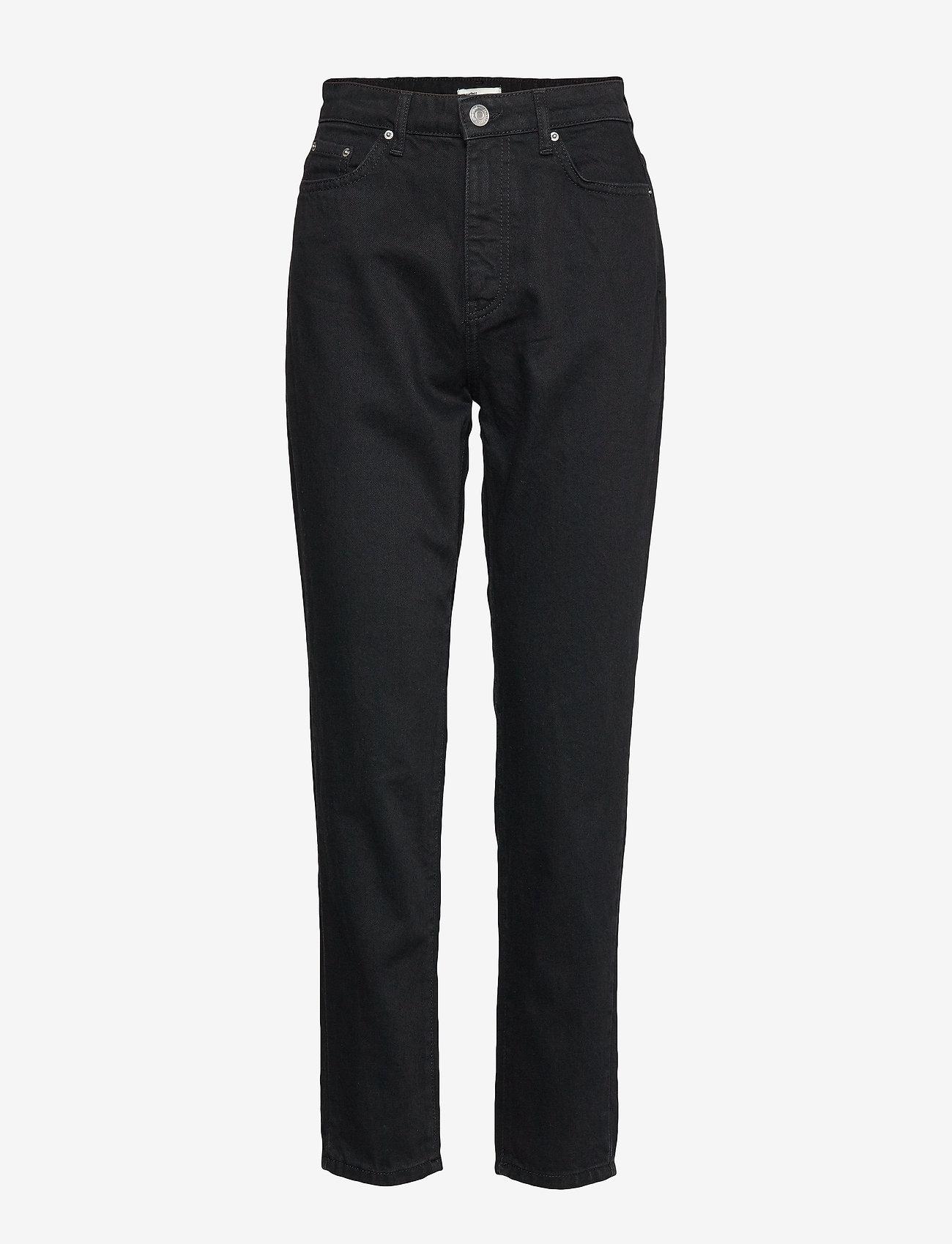 Gina Tricot - Dagny mom jeans - mom jeans - black - 0