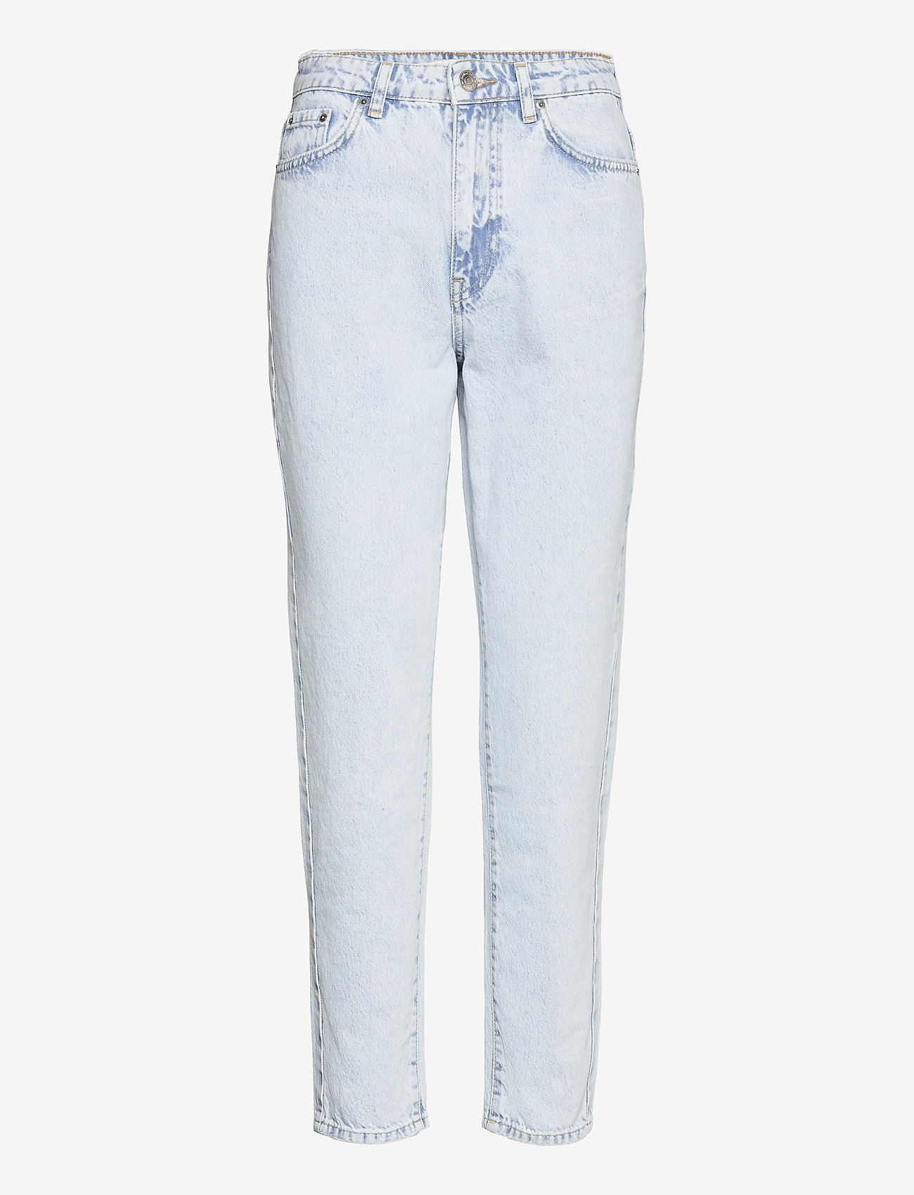 Gina Tricot - Dagny mom jeans - mom jeans - bleached blue (5029) - 0