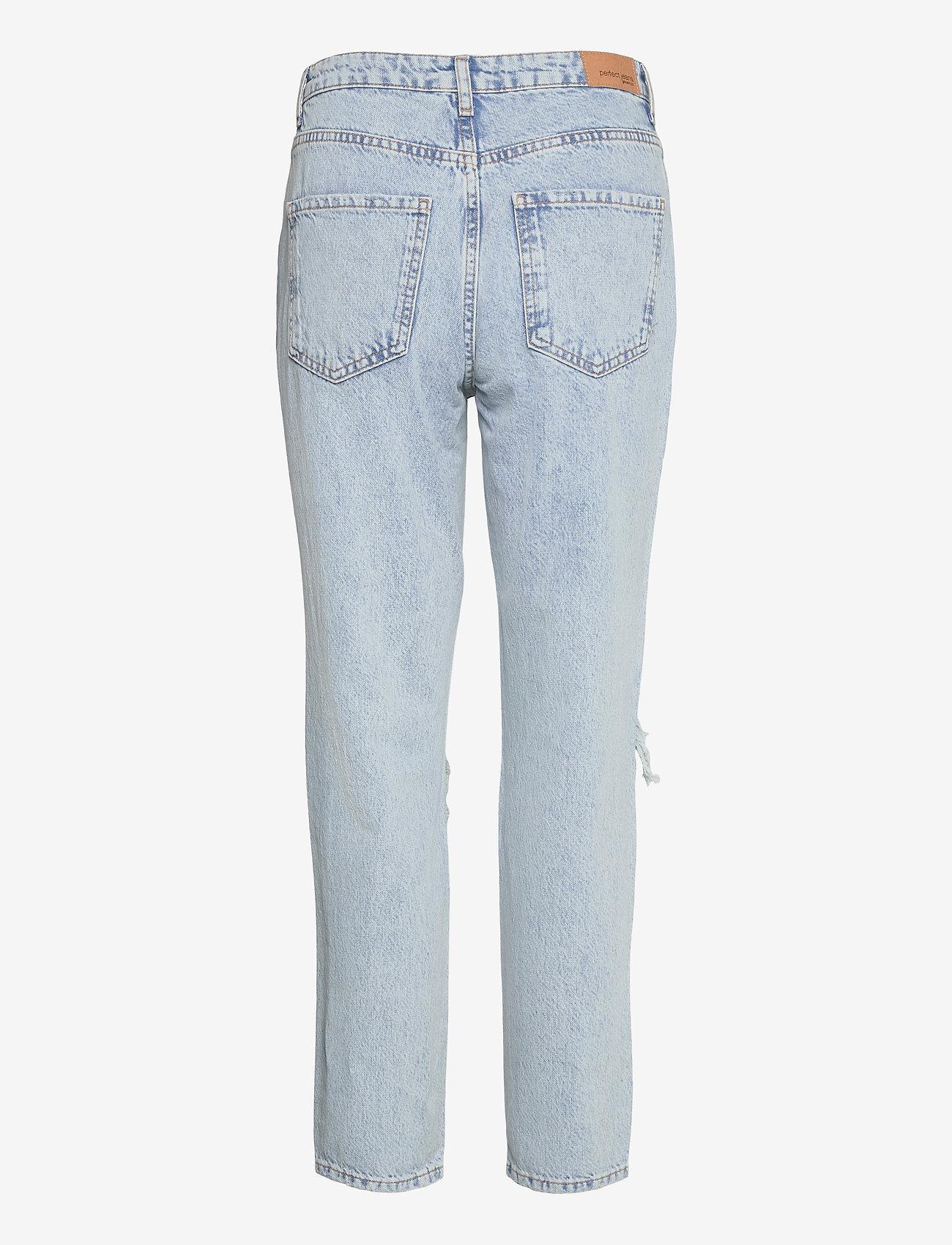 Gina Tricot - Dagny mom jeans - mom jeans - sky blue dest (5070) - 1