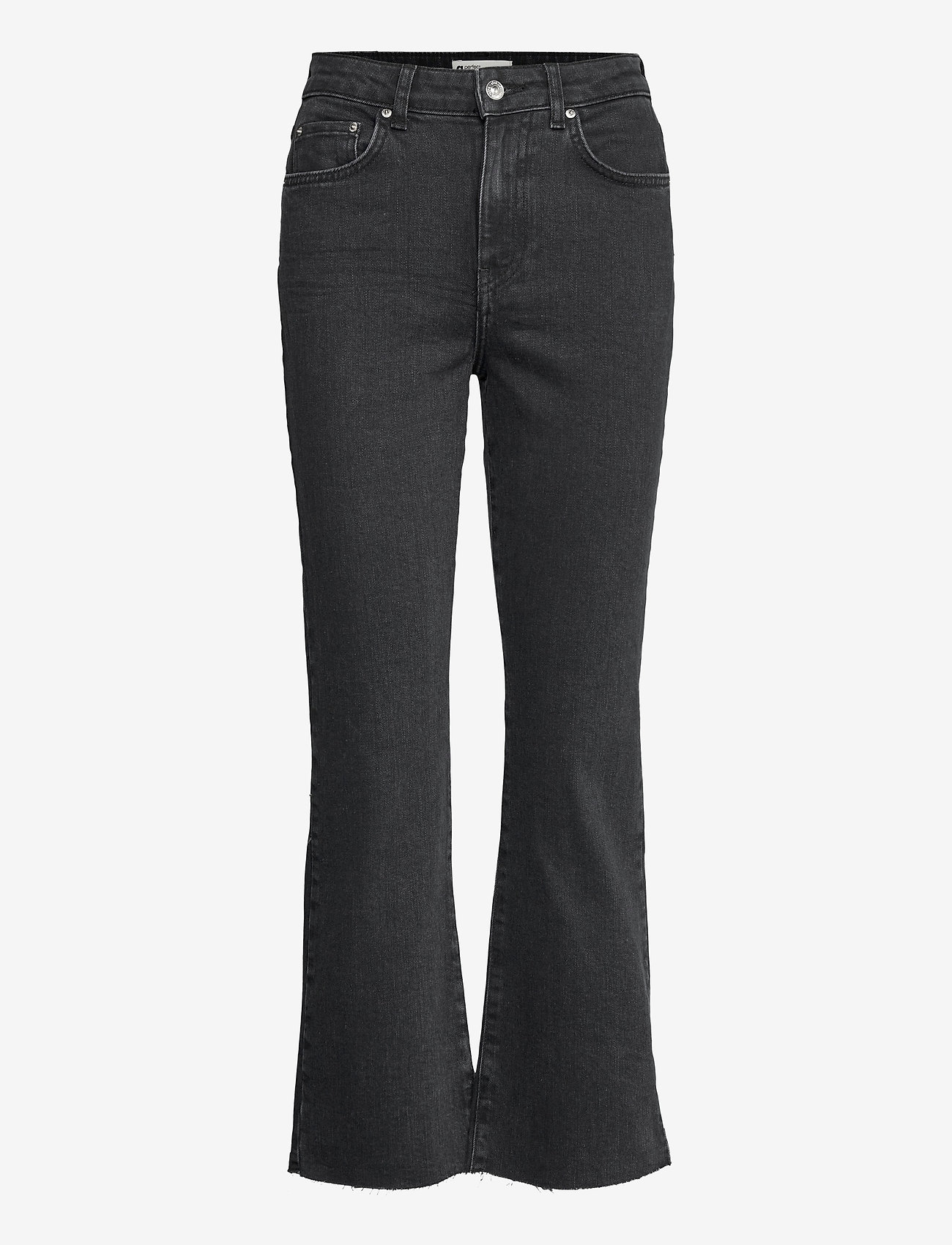 Gina Tricot - Ylva kick flare jeans - schlaghosen - offblack - 0