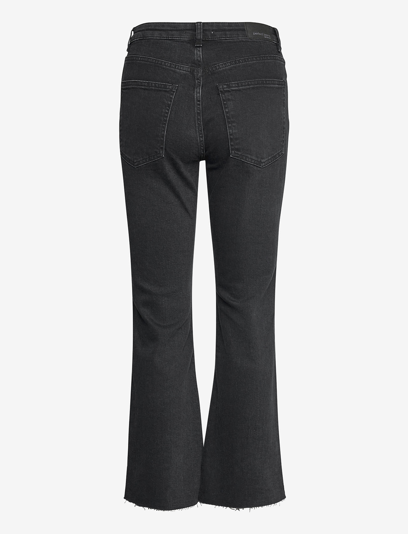 Gina Tricot - Ylva kick flare jeans - schlaghosen - offblack - 1