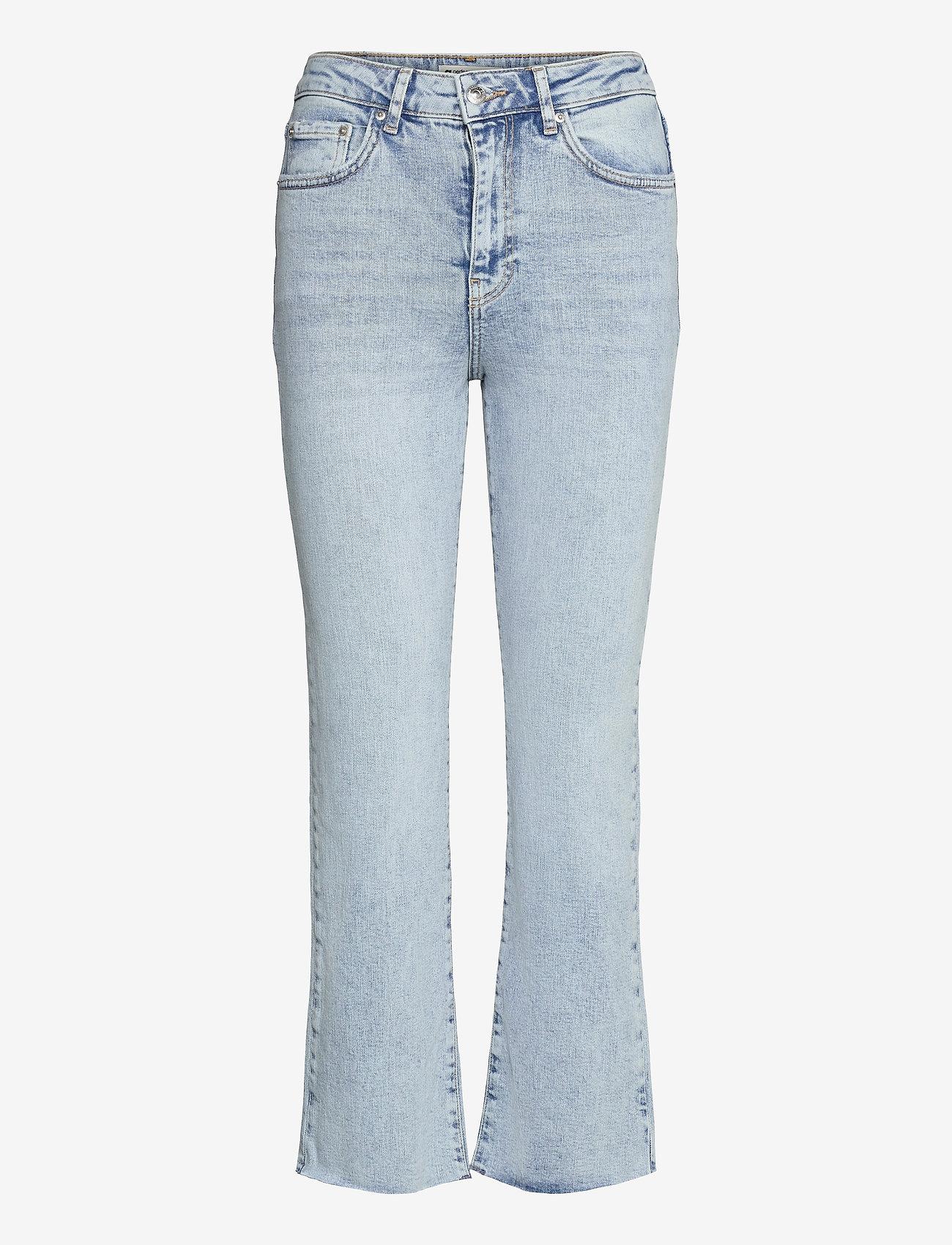 Gina Tricot - Ylva kick flare jeans - schlaghosen - sky blue - 0